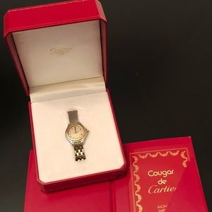 Cartier Accessories - 💯 Authentic Cartier Watch